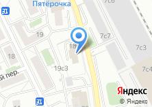 Компания «АКТЭРОС» на карте