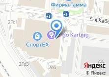Компания «Территория фитнеса» на карте