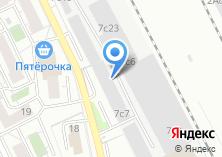 Компания «Макс-Драйв» на карте