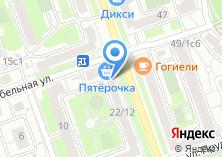 Компания «Анталь» на карте