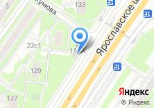 Компания «Вечерние огни» на карте