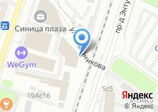 Компания «Синица Плаза» на карте