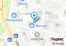 Компания «Madison Ave» на карте