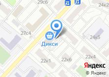 Компания «Переезд-24» на карте