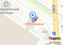 Компания «Онкологический центр СМ-Клиника» на карте