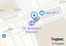Компания «Автобусный парк №16» на карте