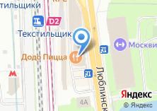 Компания «Belwest» на карте