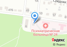 Компания «Видновская психиатрическая больница №24» на карте