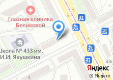 Компания «Профсоюз сотрудников ОВД г. Москвы» на карте