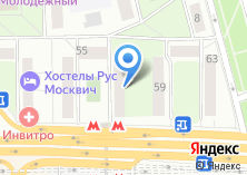 Компания «Мастерская по ремонту обуви на Волгоградском проспекте» на карте