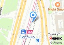 Компания «Люблино» на карте