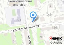 Компания «Мокс» на карте