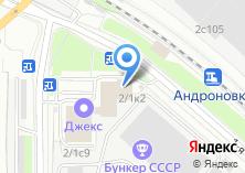 Компания «ТЕПЛОСЕРВИС.РУ» на карте
