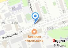 Компания «Дакара» на карте
