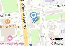 Компания «СоколОпель» на карте