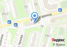 Компания «Мастерская по ремонту одежды и изготовлению ключей на Гагаринской» на карте