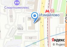 Компания «Комрет» на карте