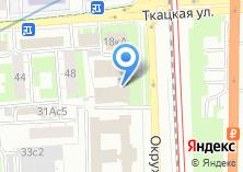 Компания «Тектопланф» на карте