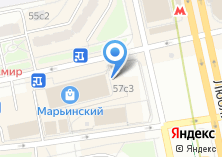 Компания «Subway» на карте