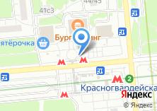 Компания «Магазин косметики и парфюмерии на Ореховом бульваре» на карте