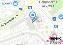 Компания «Почтовое отделение №115597» на карте