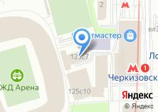Компания «Вагонъ» на карте