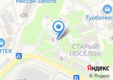 Компания «Газпром связь» на карте