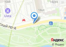 Компания «Салон цветов на Борисовских Прудах» на карте