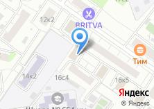 Компания «Инженерная служба района Текстильщики» на карте