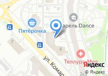 Компания «Магазин цветов на ул. Комарова» на карте