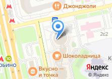 Компания «АКБ Абсолют Банк» на карте