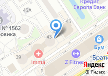 Компания «Фиора» на карте