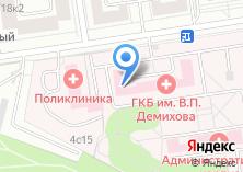 Компания «Женская консультация Городская клиническая больница №68» на карте
