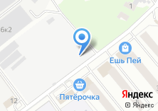 Компания «Шиномонтажная мастерская на Рупасовском 1-ом пер» на карте