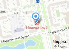 Компания «Медикал Клуб» на карте