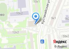Компания «Почтовое отделение №115580» на карте