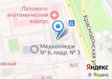 Компания «Московский государственный медико-стоматологический университет им. А.И. Евдокимова» на карте