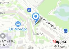 Компания «Магазин продуктов на Задонском проезде» на карте