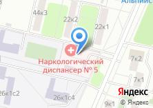 Компания «Московский научно-практический центр наркологии» на карте