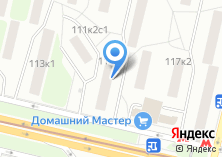 Компания «Территориальный отдел ГУП Моссоцгарантия» на карте