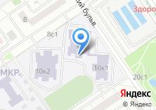 Компания «Центр образования №1458» на карте