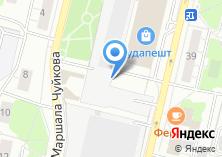 Компания «Магазин верхней одежды на Маршала Чуйкова» на карте