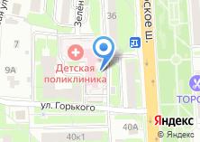 Компания «Домодедовская детская городская поликлиника» на карте