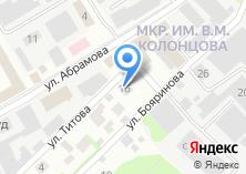 Компания «РОСЦЕМЕНТ» на карте