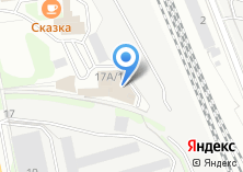 Компания «МебельДом» на карте