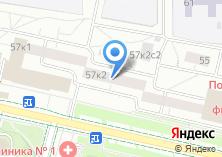 Компания «МОСМАРКТ» на карте