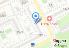 Компания «Борисовский» на карте