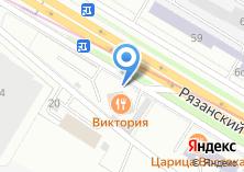 Компания «Московский профессиональный сервис» на карте