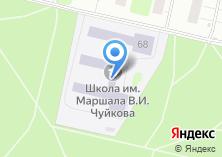 Компания «Средняя общеобразовательная школа №479 им. маршала В.И. Чуйкова» на карте