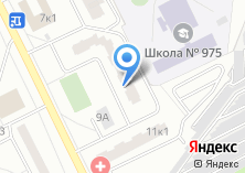 Компания «ОДС Инженерная служба района Братеево» на карте